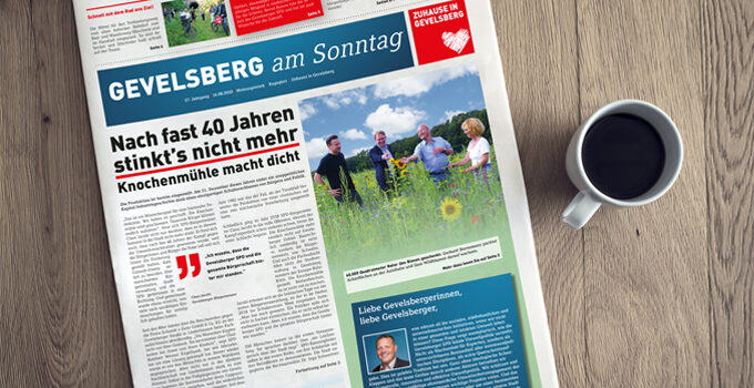 Gevelsberg am Sonntag: Neue Ausgabe erschienen