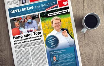 Gevelsberg am Sonntag: Sonderausgabe zum Wahlwochenende